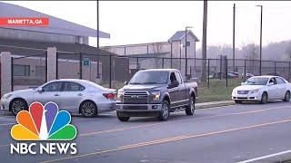Atlanta Opens Drive-Through Coronavirus Testing Sites | NBC News NOW