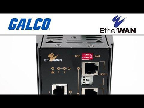 EtherWan's ED3575 Ethernet Extenders