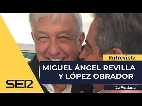 La pequeña encerrona de Revilla a Lopez Obrador, presidente de Mexico