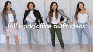 FALL WORK/OFFICE OUTFIT IDEAS 2018 | Heycarmen