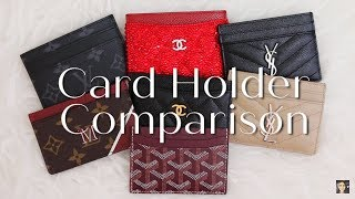 LUXURY CARD HOLDER COMPARISON: WEAR & TEAR, BEST VALUE, QUALITY | Minks4All