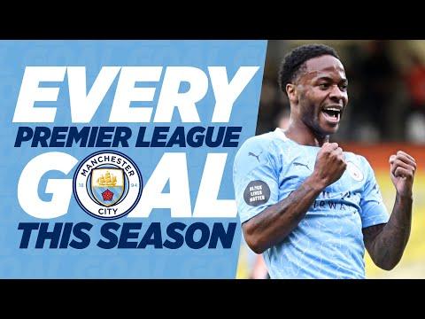 Every Premier League Goal Man City 2019/20