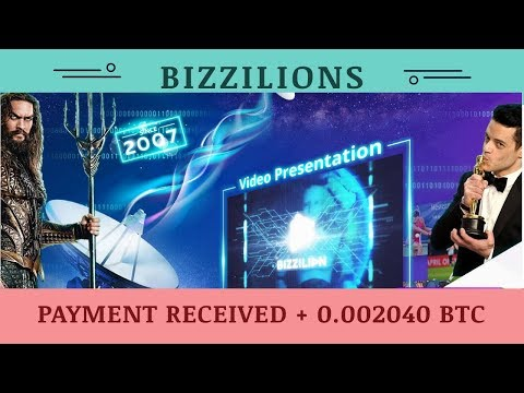 Bizzilion.com отзывы 2019, mmgp, paying, Payment Received + 0 002040 BTC