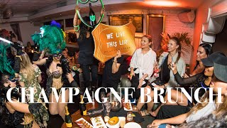 Champagne Party Brunch at Beauty  Essex