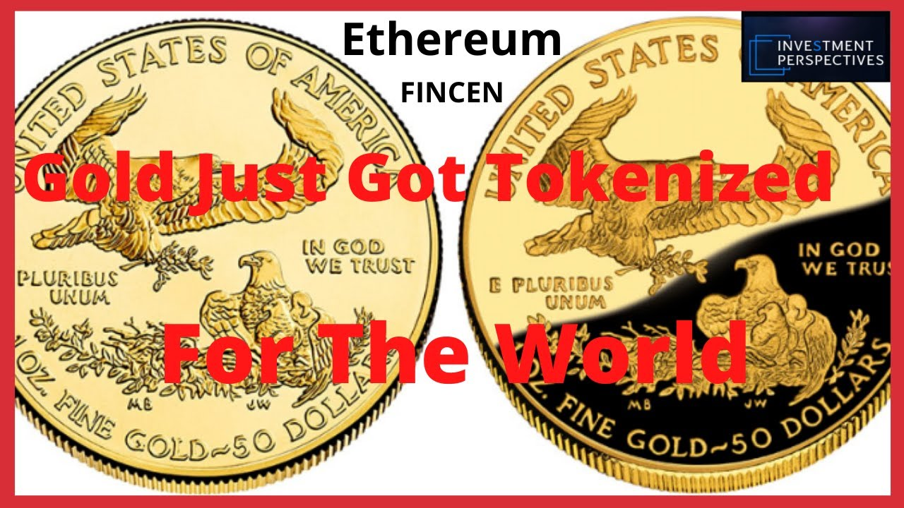 Ripple/XRP- Gold Tokenized For The World-Ethereum Smart Contracts Used For US Digital Gold Token #Ripple #XRP