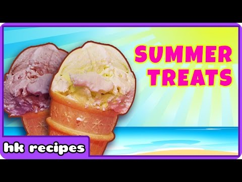 Summer Treats : Healthy Home made Ice Cream Recipe collection by Hoopla Recipes