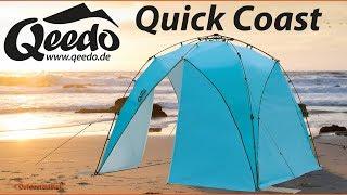 Qeedo Quick Coast Strandmuschel - UV80+, Pavillon, Zelt & Windschutz