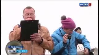 В Архангельске прошли соревнования по гребле на байдарках и каноэ