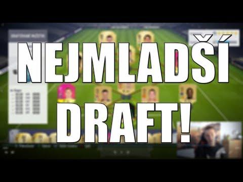 NEJMLADŠÍ DRAFT! | FIFA 18 | CZ/SK