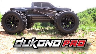 Redcat Dukono Pro 1/10 Scale Brushless Electric RC Monster Truck