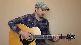 The One You're Waiting On - Alan Jackson - Guitar Lesson | Tutorial