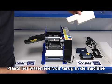 Lapomatic: Machine schoonmaken