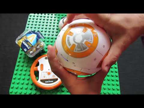 Unboxing BB-8 RC Robot Ball Remote Control Planet Boy with Star Wars Sound