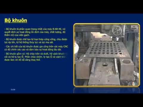Công nghệ và dây chuyền gạch không nung DONGHAI MECHANICS