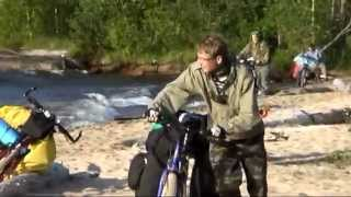 Не по морю (а по Онежскому озеру) - велопоход по песку!