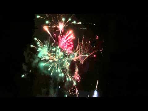 Feuerwerk 18.10.14 HEM Expert Fachmarktzentrum Wiesloch