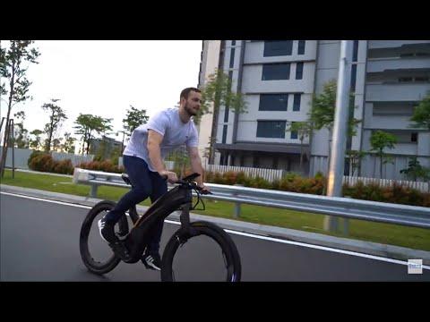 Reevo : The Hubless E-Bike-GadgetAny