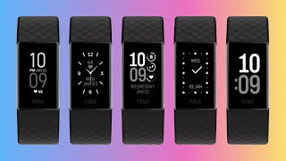 Fitbit Charge 4 Clock Faces (See All 24 In Actual Use)