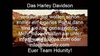 Hamburg Harley Davidson, das Harley Davidson Forum Portal ist zum Verkauf