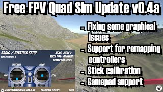 Free FPV Quad simulator - new version 0.4a release + devlog and general mumblings