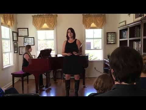 Ave Maria. Kristen Fallon Graduate Recital.
