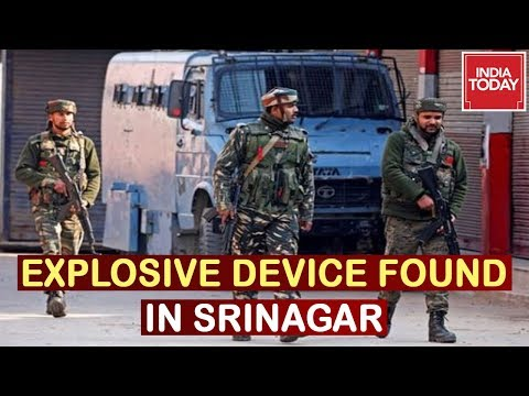 Army Stops Traffic After Explosive Device Found By Forces On Jammu-Srinagar Highway