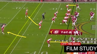 FILM STUDY: Clemson vs Bama - 2019 CFP Title