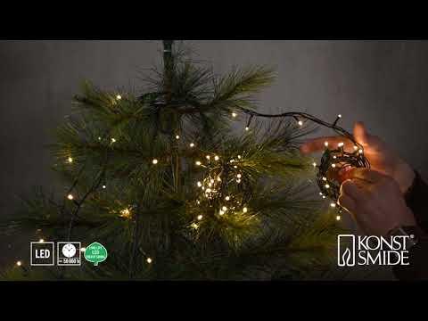 Weihnachtsbaumbeleuchtung - LED Baummantel mit Ring 2018