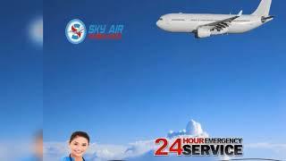 Choose Top-Level CCU Setup Air Ambulance Service in Dibrugarh and Allahabad