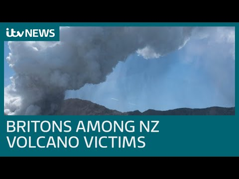 New Zealand volcano erupts killing at least five including tour guide  | ITV News
