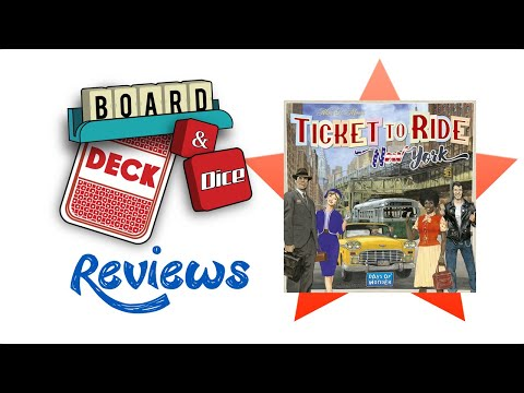 Board, Deck & Dice Review #155 - Ticket to Ride: Neq