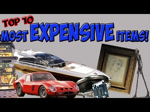 Top 10: Most Expensive Items Every Sold!