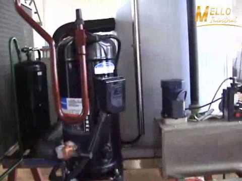 Operacion del maquina de hielo en escamas FK2T A2G
