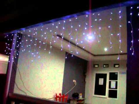 Jual Mempercantik Dekorasi Dgn Lampu LED Tirai Murah