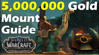 The 5,000,000 Gold Mount Guide (Mighty Caravan Brutosaur)
