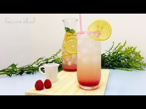 Video Sparkling Pink Lemonade from scratch | d for delicious