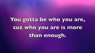 love yourself - Julianne Hough lyrics