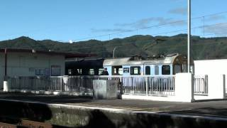 preview picture of video 'The old Naenae Railway Station, with Ganz-Mavag EMU, Lower Hutt, NZ'