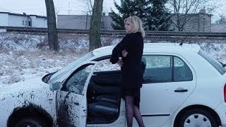 Аварии на регистратор - гололед (зимняя подборка). accident