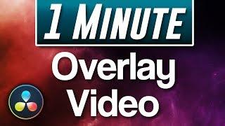Davinci Resolve : How to Overlay Video