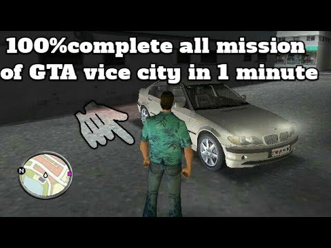 How To Complete All Mission Of Gta Vice City - Best Open World Games