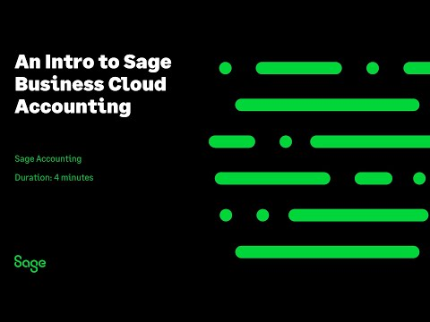 An Intro to Sage Business Cloud Accounting