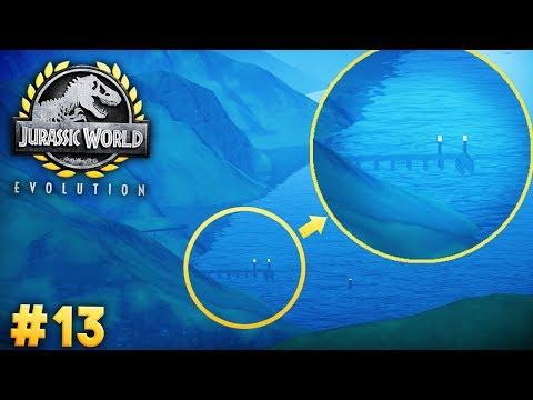 Isla Pena's SECRET ABANDONED DOCK | Jurassic World: Evolution (Story Part 13)