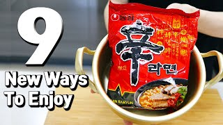 9 New Ways To Enjoy Korean Ramyun Ramen Recipes Hack