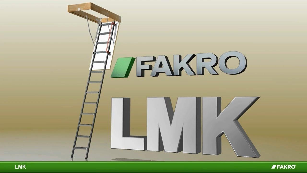 LMK Metal Loft Ladder
