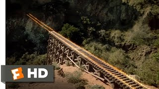 Back to the Future Part 3 (8/10) Movie CLIP - Train Ride to the Future (1990) HD