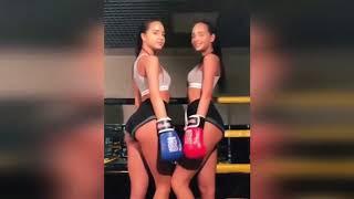 Жесткий женский бокс ЛУЧШИЕ ПРИКОЛЫ 2018 Февраль ржака до слез угар видео прикол - ПРИКОЛЮХА #94