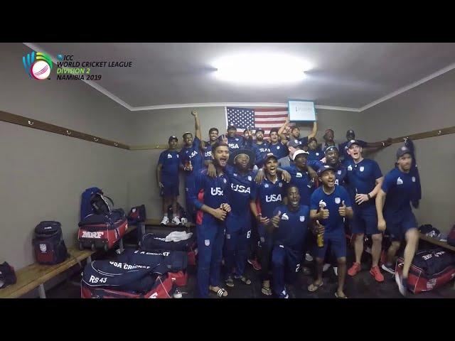 USA secure ODI status in World Cricket League 2