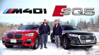[Throttle House] 2019 BMW X4 M40i vs Audi SQ5 // Performance SUV Face-Off