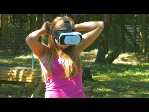 auvisio PEARL Virtual-Reality-Brille 3D für Smartphones (3,5